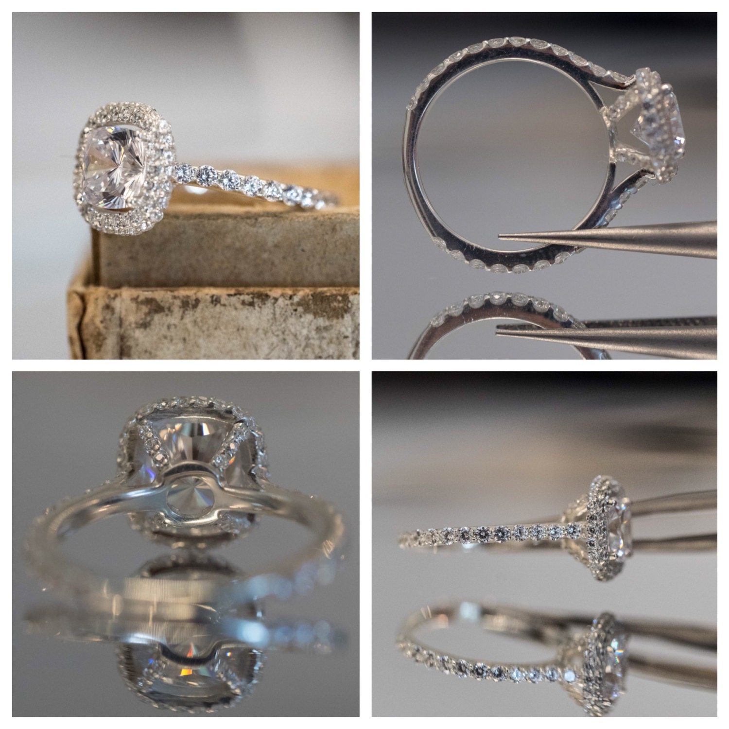 engagement photo viewing attachment rings settings inside gallery gold of flat white jewellery photos online ring