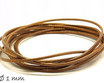 Designed, brown (smooth), Ø 1 mm