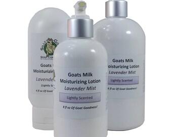 Lavender Lotion, Lavender Body Lotion, Lavender Hand Lotion, Goat Milk Lotion, Goats Milk Lotion