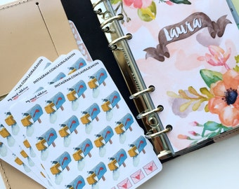 Mailbox and Envelope Planner Stickers