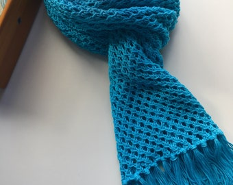 Handknit Lace Scarf