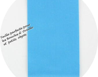 25 pockets 7 X 12 cm Turquoise Blue Craft paper gift # EMB2