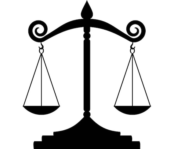 scales of justice 1 lawyer attorney law balance police judge rh etsy com Gnome Clip Art Lawyer Clip Art