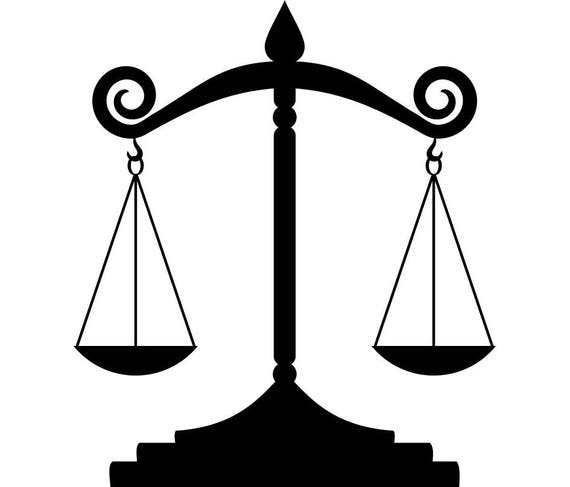 scales of justice 1 lawyer attorney law balance police judge rh etsy com scales of justice vector art scales of justice vector download