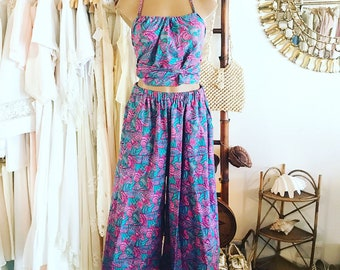 Two piece top and pants