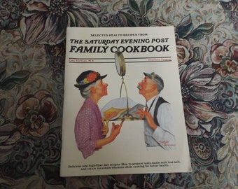 Cook book. The Saturday Evening Post Family Cookbook 1984 Gift idea