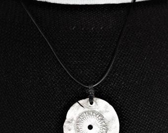 Warrior Shield Pendant Necklace