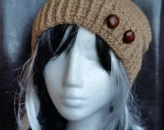 Hand crocheted Wool-Beanie Unique GR Uni