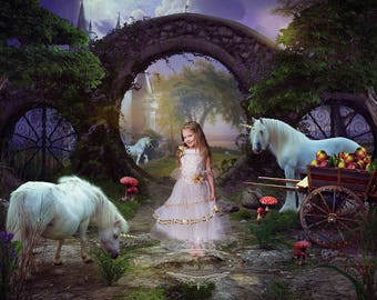 Fairy tale, Fantasy Photo Composite of your Child