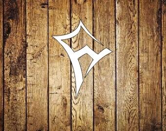 Kappa Alpha Theta Kite Decal