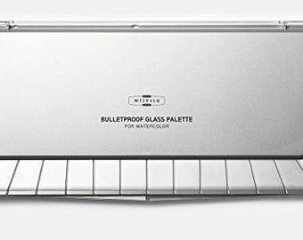 Mijello Bulletproof Glass Palette for Watercolor 36 Colors