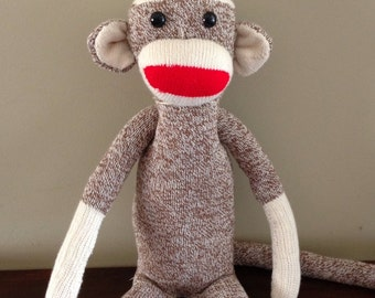 Original Sock Monkey, Vintage style, available in different colors