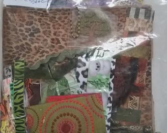 Kit paperbag album theme-zoo animals
