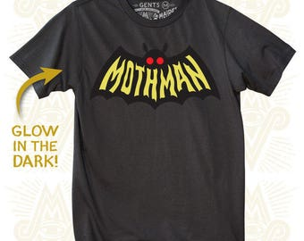 Mothman - Glow in the Dark (Gents)