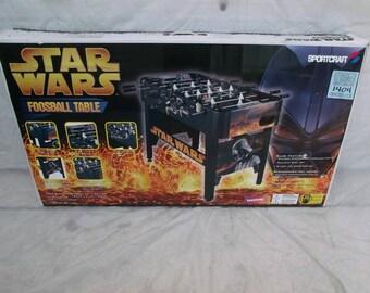 1990's SportCraft StarWars Foosball table