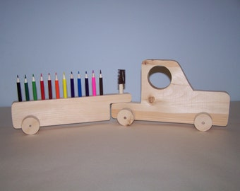 Colored Pencil holder truck