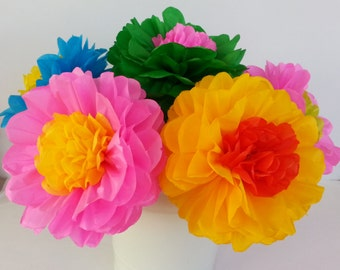 Mexican paper flower instructions boatremyeaton mexican paper flower instructions mightylinksfo