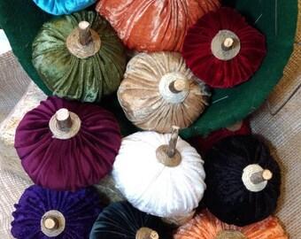 Velvet Pumpkins, Halloween Harvest Thanksgiving Decor, Pumpkin Decor, Halloween Thanksgiving Harvest Pumpkin, Stuffed Pumpkin, Plush Pumpkin