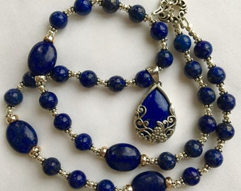 Lapis Lazuli Handcrafted Necklace
