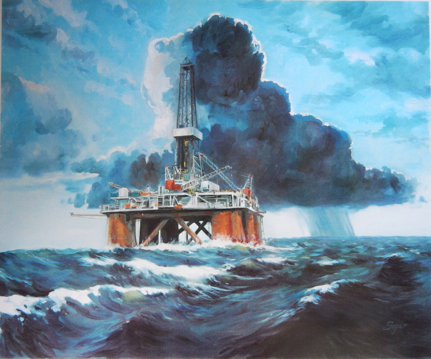 Painting With Oil Safety