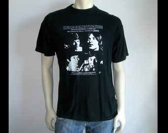 "Rare 1967 Small Faces ""Here Comes The Nice"" T shirt~Steve Marriott/Ronnie Lane~ Immediate Records~Size Medium/Large/See Dimensions"