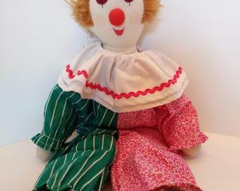 Handmade Clown Doll