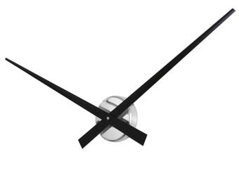 Roco Verre Big Hands Wall Clock