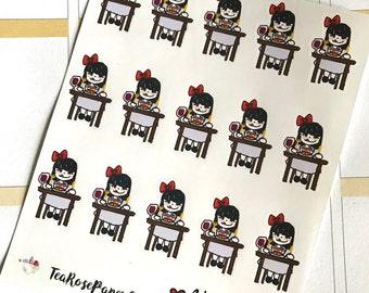 L'il Bow - Nom Nom Nom (Decorative Event Stickers)
