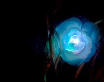 ZuZu Light-up LED Hair Clip - Dance Recitals, Bellydance, Tribal, Burlesque, Fantasy, Fairy, Circus, Rave, Party Favors, Carnival, Festival