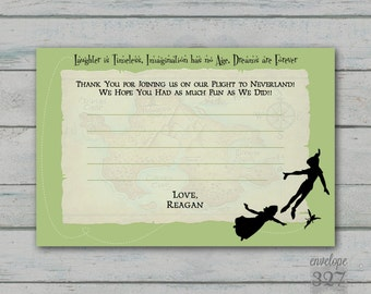 Peter Pan Thank You Card