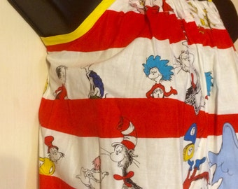 Dr. Seuss Character Sundress (Multiple Sizes Available)