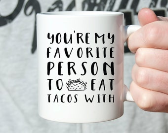 Boyfriend Gift Birthday Gift for Boyfriend Anniversary Gifts for Men Mens Gift Anniversary Gifts for Boyfriend Girlfriend Gift Taco Mug