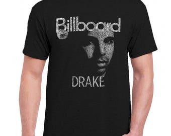 Drake Men Tee Shirt T-Shirts Black / Dark Gray