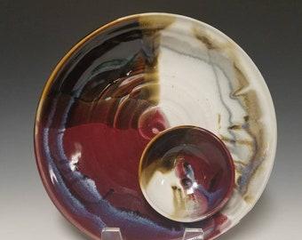Handmade Chip and Dip Platter #1086