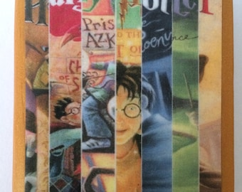 Harry Potter Seven Book Paperweight