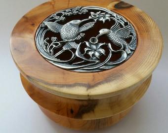 Yew Pot Pourri Bowl