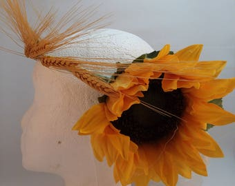 Lughnasadh Lammas Sunflower Wheat Circlet Adult
