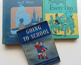 3 Mid Century Books 1940's and 1950