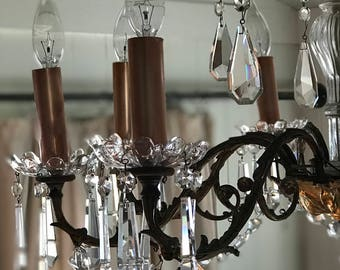 Chandelier Sleeves Candle Covers