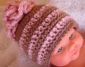 PDF Instant Download Crochet PATTERN no 101 Strawberry Chocolate Hat All sizes from Newborn to Adult