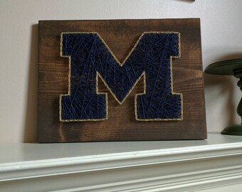 Made to order University of Michigan String Art