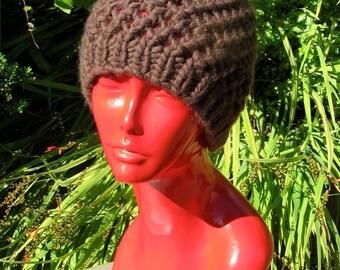 HALF PRICE SALE Digital pdf download - Superfast Simple Lace Skullcap Knitting Pattern
