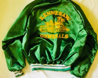 Awesome Vintage Varsity Jacket Kennesaw Generals, Kennesaw Georgia Made in USA