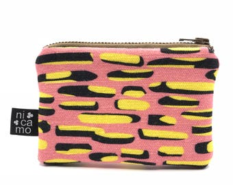 Wallet with colorful print Nicamo