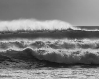 Surf Photography - Barreling Wave Photograph - Fine Art Photography Modern Wall Art in Various Sizes 8x10, 8x12, 11x14, 12x18, 16x20, 16x24