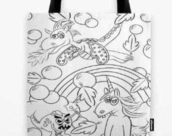 Grumpy Tales - Colorable Bag