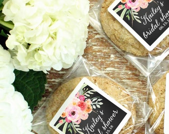 24 - Bridal Shower Favor Bags - Bouquet Design | Floral Bridal Shower Favor | Cellophane Cookie Bags | Candy Bags | Baby Shower ANY OCCASION