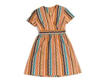 Vintage Handmade Trippy Dress