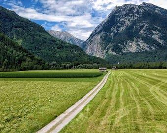 Open Field in Austria
