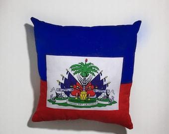 Haiti pillow, Haitian flag